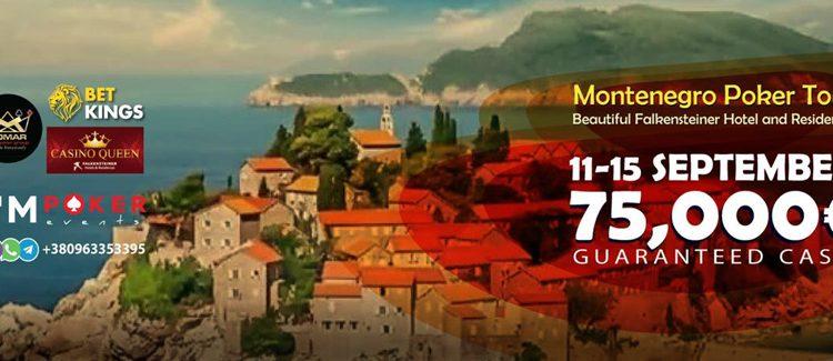 Montenegro Poker Tour 75,000 Euro Guaranteed Cash