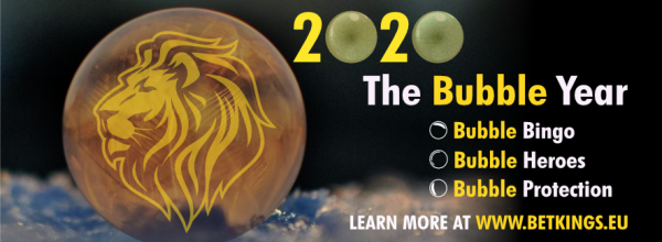 2020 IS THE BUBBLE YEAR: COME JOIN THE FUN!