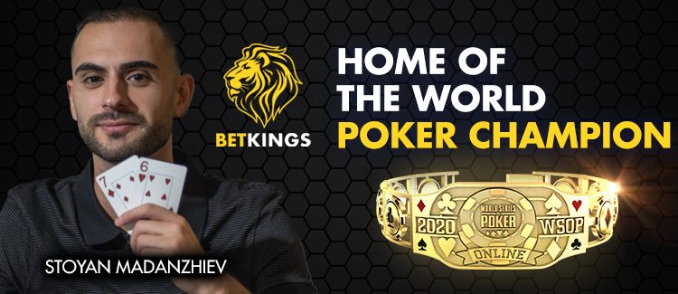 Betkings Player Stoyan Madanzhiev Wins The 2020 WSOP Main Event